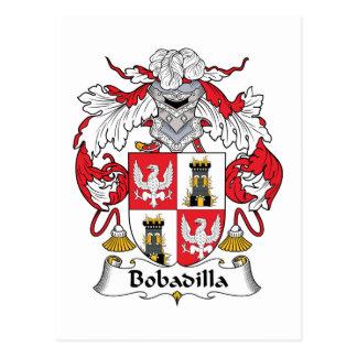 Escudo de la familia de Bobadilla Postales