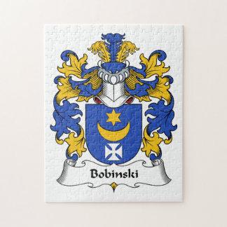 Escudo de la familia de Bobinski Rompecabeza Con Fotos