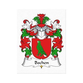 Escudo de la familia de Bochen Impresiones En Lona Estiradas