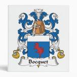 Escudo de la familia de Bocquet