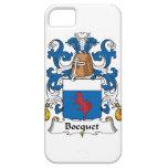 Escudo de la familia de Bocquet iPhone 5 Case-Mate Cobertura
