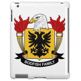 Escudo de la familia de Bodfish Funda Para iPad