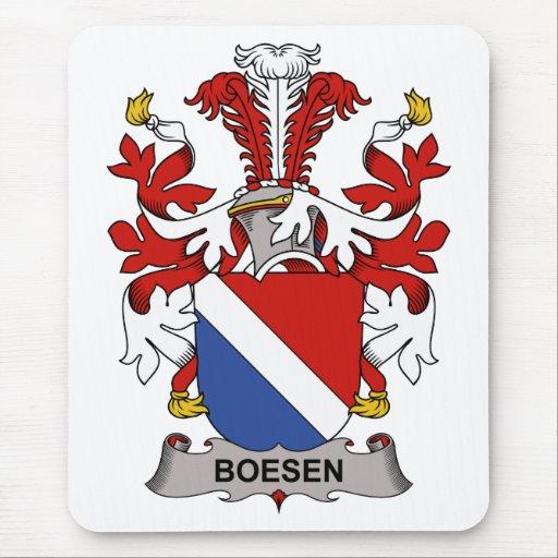 Escudo de la familia de Boesen Mousepads