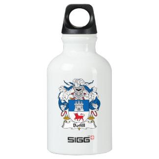 Escudo de la familia de Bofill Botella De Agua