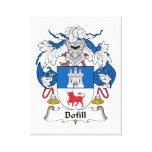 Escudo de la familia de Bofill Impresión De Lienzo