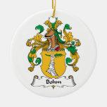 Escudo de la familia de Bohm Ornaments Para Arbol De Navidad