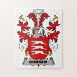 Escudo de la familia de Bohnen Puzzles Con Fotos