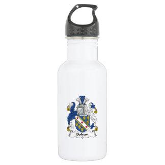 Escudo de la familia de Bohun Botella De Agua
