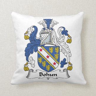 Escudo de la familia de Bohun Cojín Decorativo