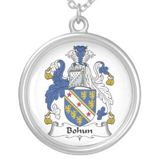 Escudo de la familia de Bohun Collar Plateado