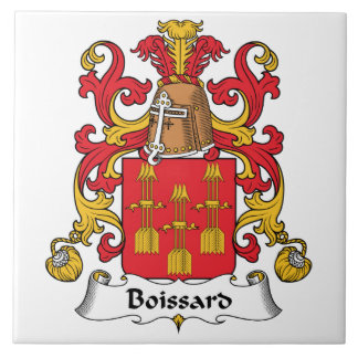 Escudo de la familia de Boissard Azulejos
