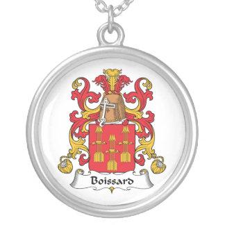 Escudo de la familia de Boissard Collar Personalizado