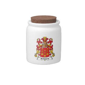 Escudo de la familia de Boissard Plato Para Caramelo