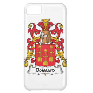 Escudo de la familia de Boissard Funda Para iPhone 5C
