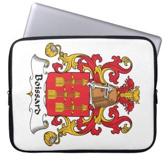 Escudo de la familia de Boissard Funda Portátil