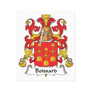 Escudo de la familia de Boissard Impresión De Lienzo
