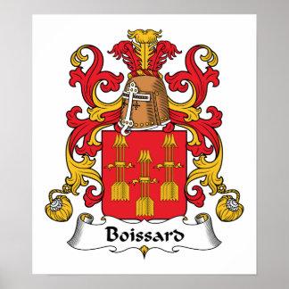 Escudo de la familia de Boissard Impresiones