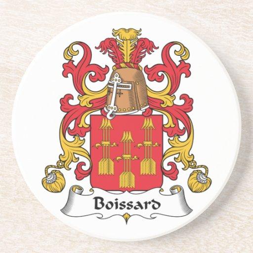 Escudo de la familia de Boissard Posavasos Manualidades