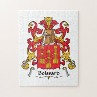 Escudo de la familia de Boissard Rompecabezas Con Fotos