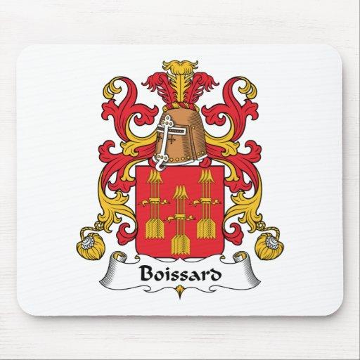 Escudo de la familia de Boissard Alfombrillas De Ratones