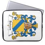Escudo de la familia de Boivert Funda Portátil