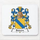 Escudo de la familia de Boivert Alfombrilla De Ratón