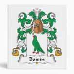 Escudo de la familia de Boivin
