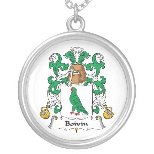 Escudo de la familia de Boivin Pendiente