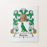 Escudo de la familia de Boivin Puzzles Con Fotos