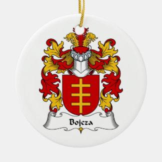 Escudo de la familia de Bojcza Adorno Redondo De Cerámica