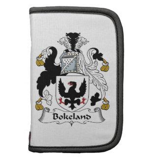 Escudo de la familia de Bokeland Planificadores