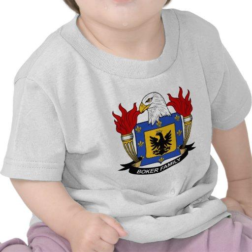 Escudo de la familia de Boker Camiseta