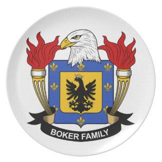 Escudo de la familia de Boker Platos