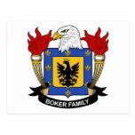 Escudo de la familia de Boker Postal