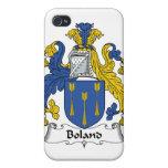 Escudo de la familia de Boland iPhone 4/4S Carcasa