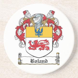 Escudo de la familia de Boland Posavasos Manualidades