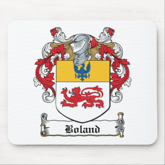 Escudo de la familia de Boland Tapetes De Ratones