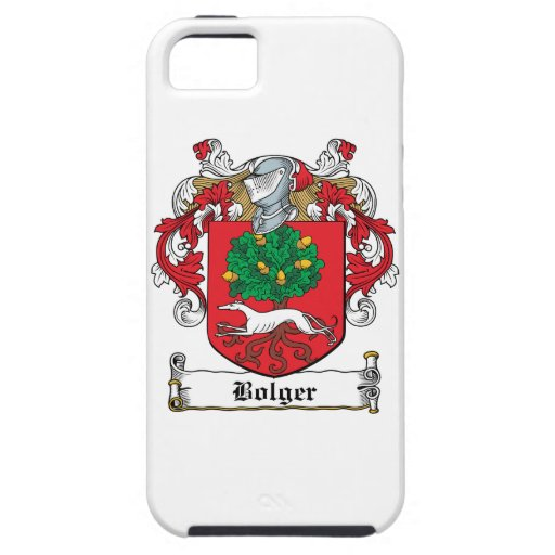Escudo de la familia de Bolger iPhone 5 Cárcasas