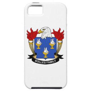 Escudo de la familia de Bolles iPhone 5 Case-Mate Cobertura