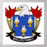 Escudo de la familia de Bolles Impresiones