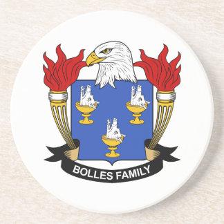 Escudo de la familia de Bolles Posavasos Cerveza