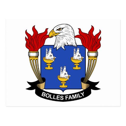 Escudo de la familia de Bolles Postales