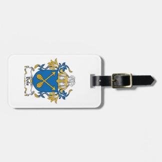 Escudo de la familia de Bols Etiqueta De Equipaje