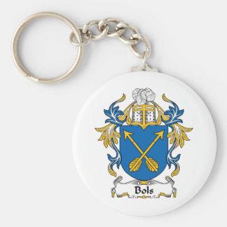 Escudo de la familia de Bols Llaveros Personalizados