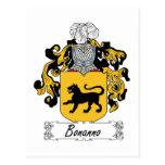 Escudo de la familia de Bonanno Postal