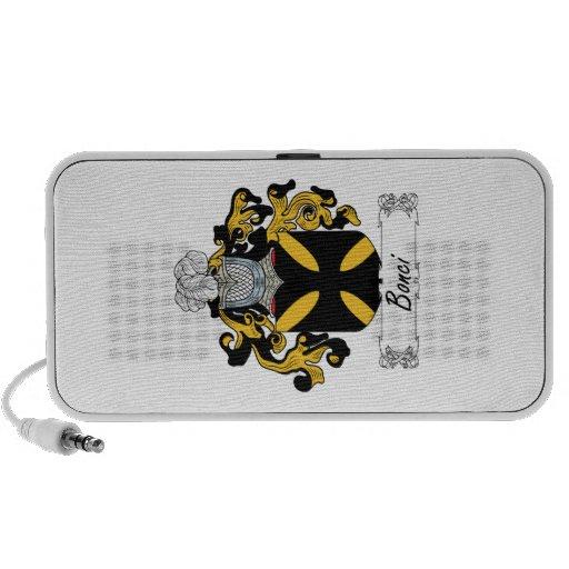 Escudo de la familia de Bonci iPod Altavoces