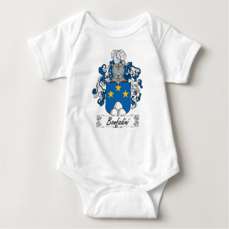 Escudo de la familia de Bonfadini Body Para Bebé