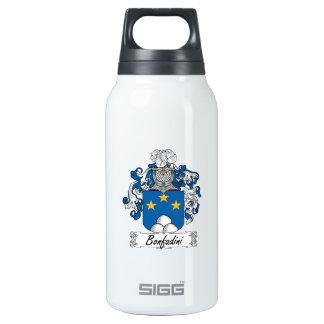 Escudo de la familia de Bonfadini Botella Isotérmica De Agua
