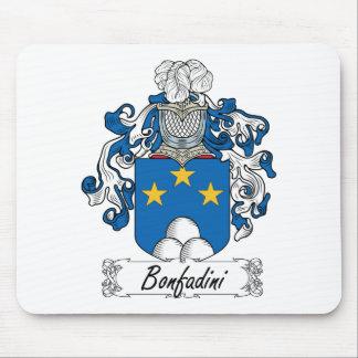 Escudo de la familia de Bonfadini Mouse Pads