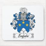 Escudo de la familia de Bonfadini Tapetes De Raton